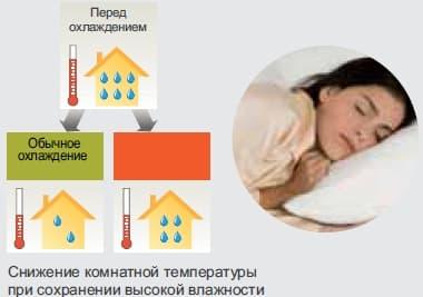 Охлаждение с мягким осушением Mild Dry Cooling.