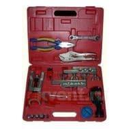 Набор инструментов Favor Cool RT 825(вальцовка+труборасширитель 275L, трубогиб СТ-368, пережим СТ-201, ример СН-208, пассатижи, 2трубореза), фото 1