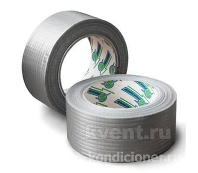 Термостойкая армированная лента ULTRA tape (TPL 50 мм x 50 м - серый), фото 1