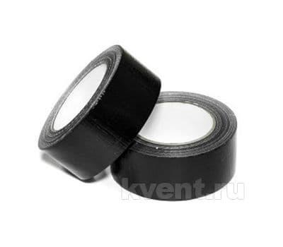 Термостойкая армированная лента 50мм*40м, Черная (TPL-Black), фото 1