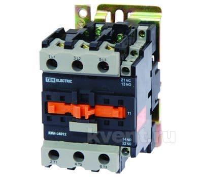 Контактор TDM КМН-34012 40А 230В/АС3 1НО;1НЗ, фото 1