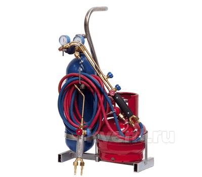 Переносной сварочный пост ПГУ-5П (кислород 5 л / пропан 5 л), фото 1