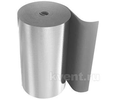 Изоляция Almalen UniLine Sheet VSA 5мм / 1м, в рулоне 25м, самоклеящаяся, с алюминиевым покрытием, фото 1