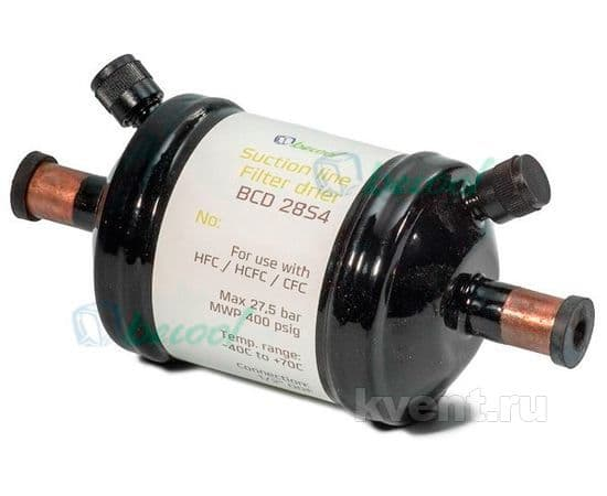 "Фильтр-осушитель 1/2"" Becool BCD-28S4 (на газ, под пайку), фото 1"
