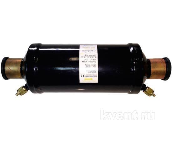 """Фильтр-осушитель 1 5/8"""" Becool BCDF-248S13 (на газ, под пайку), фото 1"""