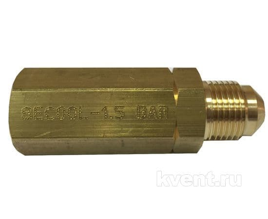 Дифф. обратный клапан Becool BC-ORV-1,5 (1,5 бар, 5/8''-18UNF-2A), фото 1