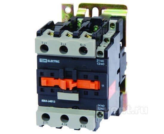 Контактор TDM КМН-35012 50А 400В/АС3 1НО;1НЗ, фото 1