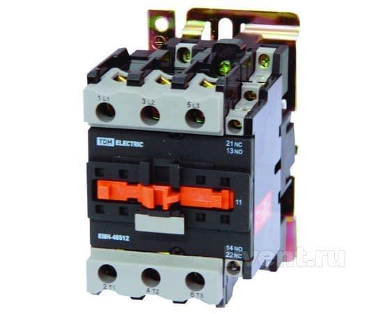Контактор TDM КМН-48012 80А 400В/АС3 1НО;1НЗ, фото 1