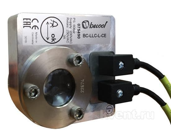 Электронное реле контроля уровня жидкости Becool BC-LLC/L-CD 24V, фото 1