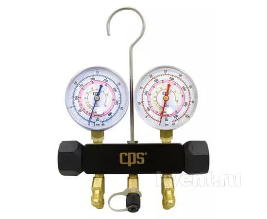 Манометрический коллектор CPS BLAKMAX MBO (R410A, R22, R407C; без шлангов), фото 1