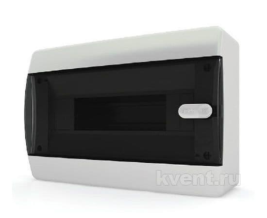 Tekfor CNK 40-12-1 бокс 12М навесной IP41 (прозрачная черная дверца), фото 1